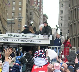 Tom Brady and the Lombardi Cup